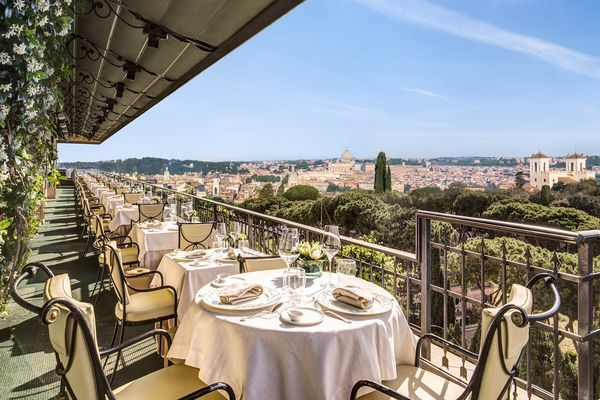 Hotel Splendide Royal Rome Restaurant 3