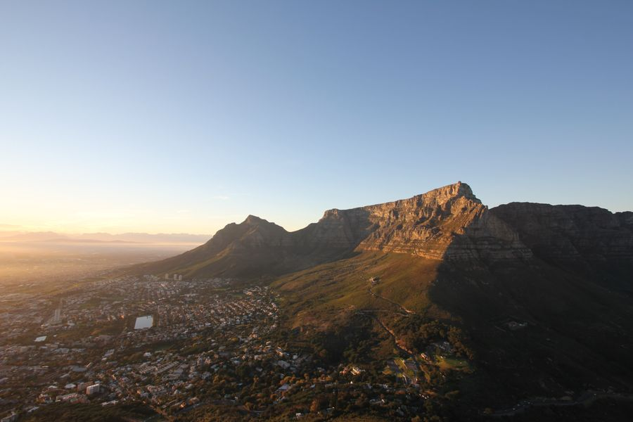 Cape Town nighttime